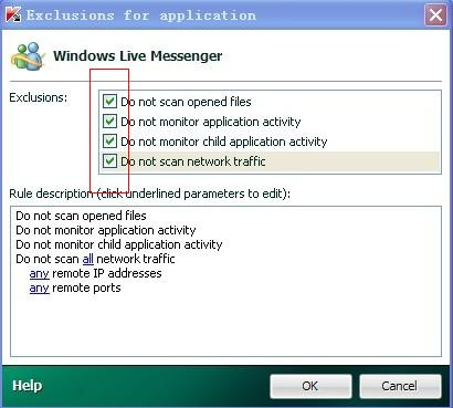 how to add trusted application in kaspersky security center