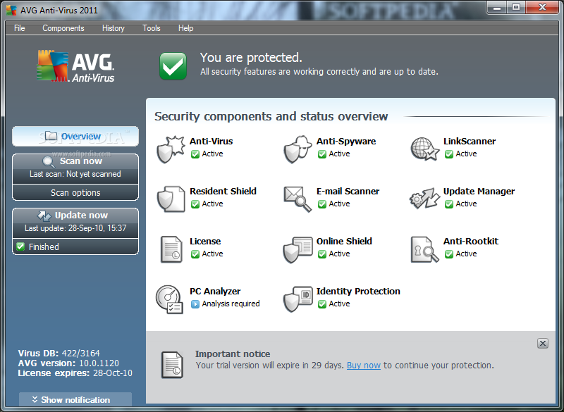 AVG Anti-Virus 2011 20% OFF