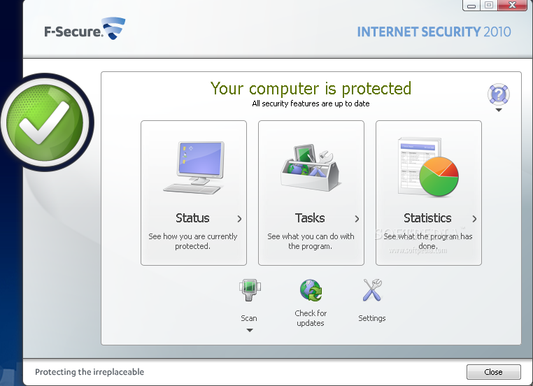 f secure internet security 2010