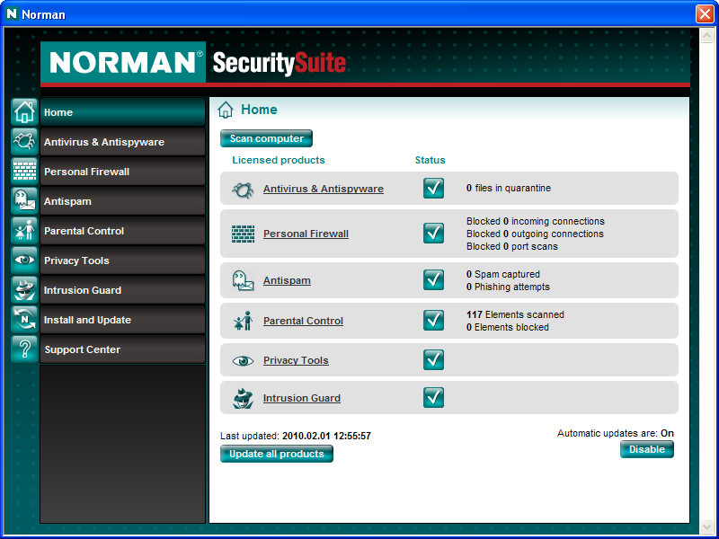 Norman Security Suite Pro -20% Discount