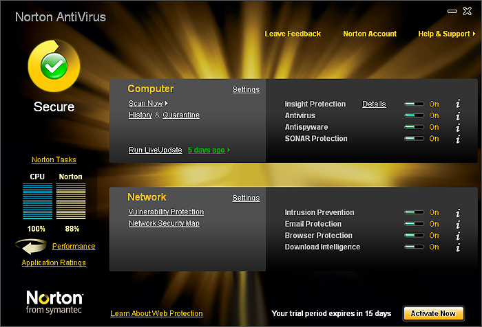 Norton Antivirus Free Trial