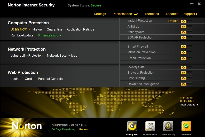 Norton Internet Security 2011 - 10% Discount
