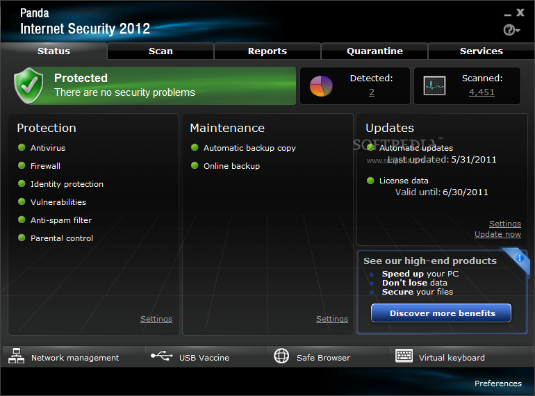 Panda Internet Security 2012 Discount