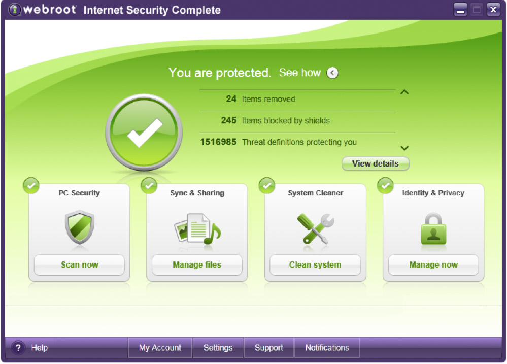 Webroot Internet Security Complete 2011