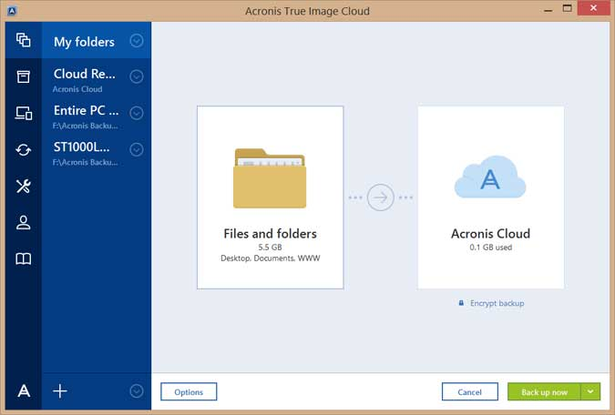 Acronis True Image 2017 Screenshots 7