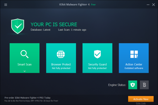 IObit Malware Fighter 4 Screenshots 1