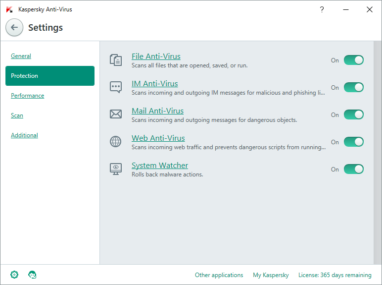 Kaspersky Antivirus Screenshots 2