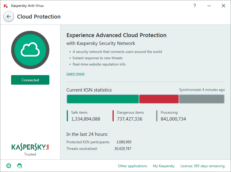 Kaspersky Antivirus Screenshots 3