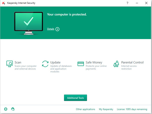 Kaspersky Internet Security Screenshots 1