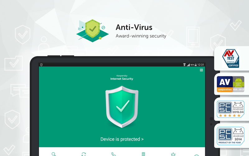 Kaspersky Internet Security for Android Screenshots 1