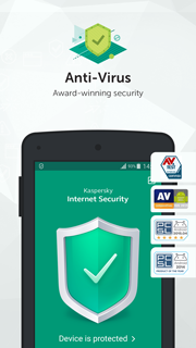 Kaspersky Internet Security for Android Screenshots 3