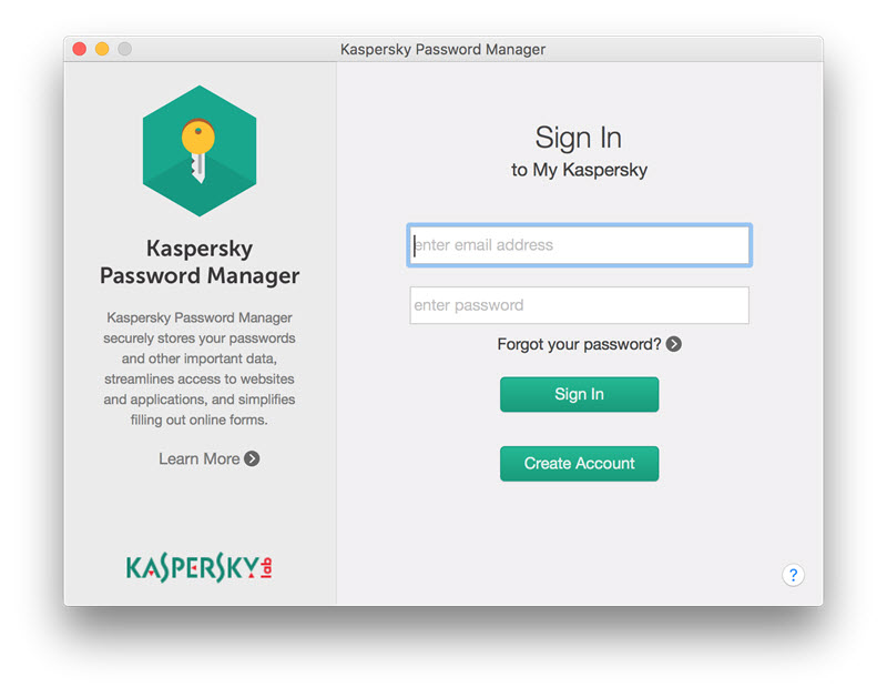 Kaspersky Password Manager Screenshots 3