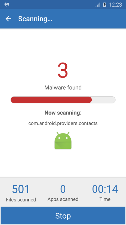 Malwarebytes Anti-Malware Mobile Screenshots 4