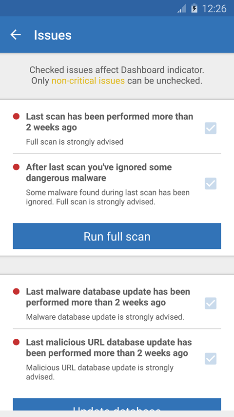 Malwarebytes Anti-Malware Mobile Screenshots 7