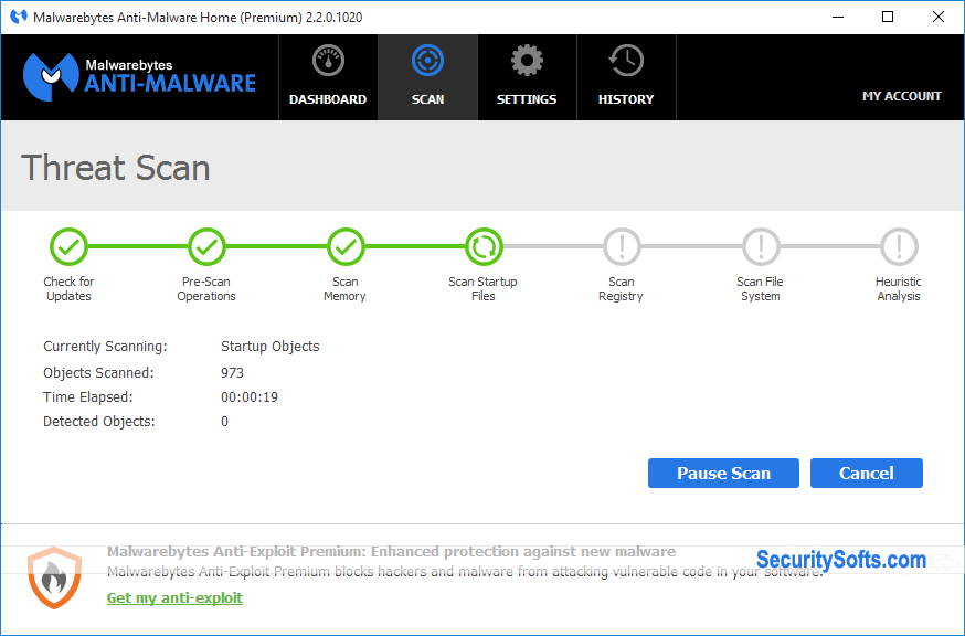Malwarebytes Anti-Malware Premium Screenshots 2