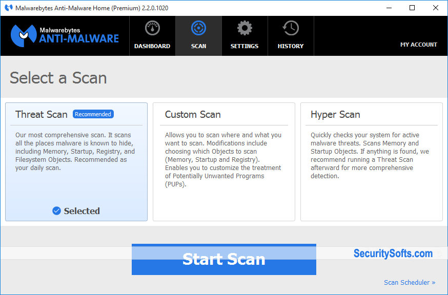 Malwarebytes Anti-Malware Premium Screenshots 3