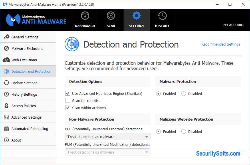 Malwarebytes Anti-Malware Premium Screenshots 5