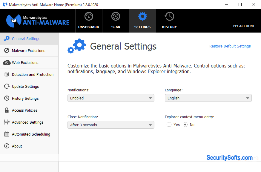 Malwarebytes Anti-Malware Premium Screenshots 6