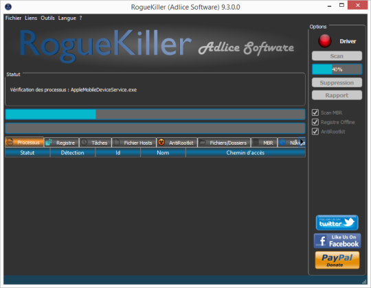 RogueKiller Screenshots 1