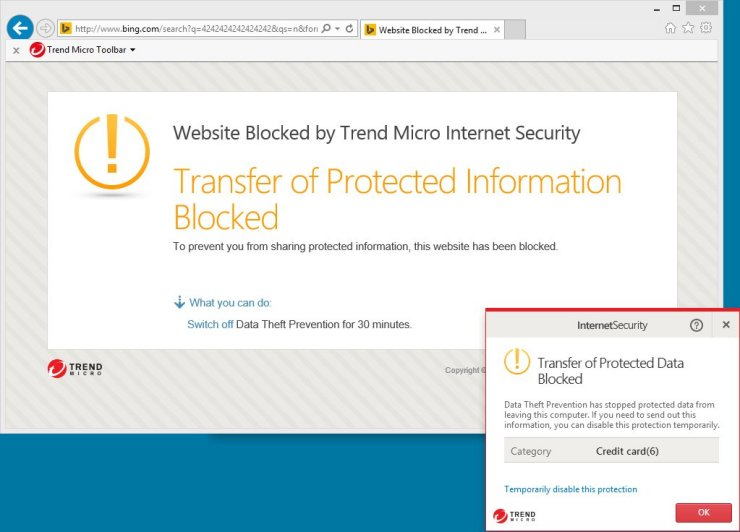 Trend Micro Internet Security 10 – Save 40% Screenshots 3