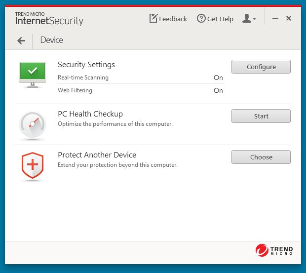 Trend Micro Internet Security 10 – Save 40% Screenshots 4
