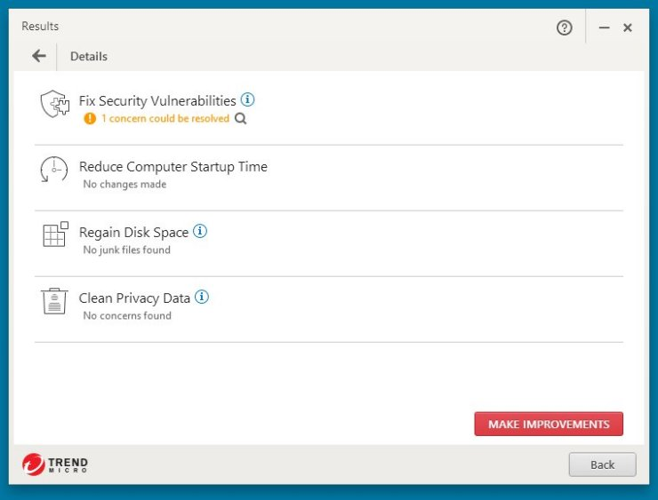 Trend Micro Internet Security 10 – Save 40% Screenshots 7