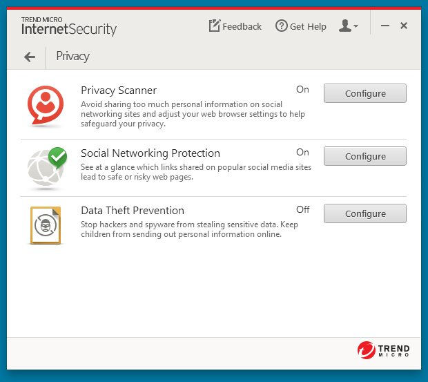 Trend Micro Internet Security 10 – Save 40% Screenshots 8