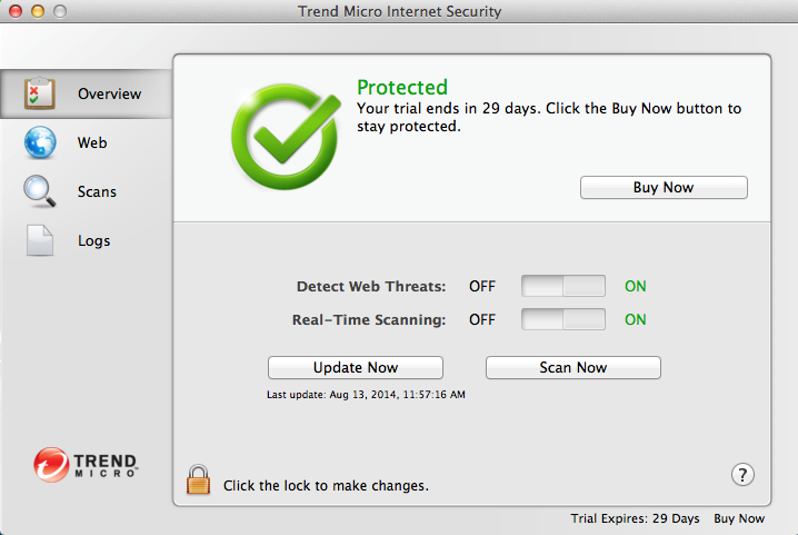 Trend Micro Premium Security 10 – SAVE 50% Screenshots 1