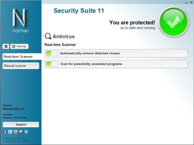 Norman Antivirus Screenshots 2