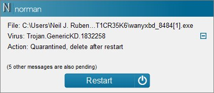 Norman Antivirus Screenshots 6