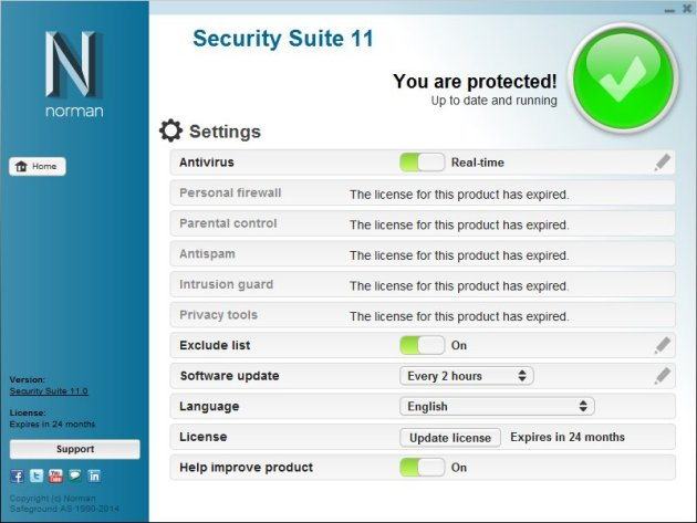 Norman Antivirus Screenshots 5