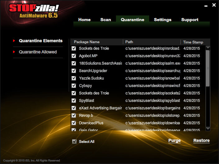 STOPzilla AntiMalware Screenshots 4