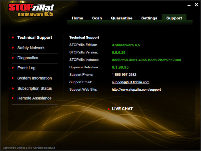 STOPzilla AntiMalware Screenshots 6