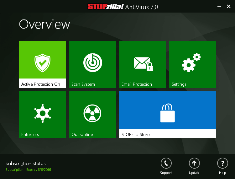 STOPzilla AntiVirus Screenshots 1