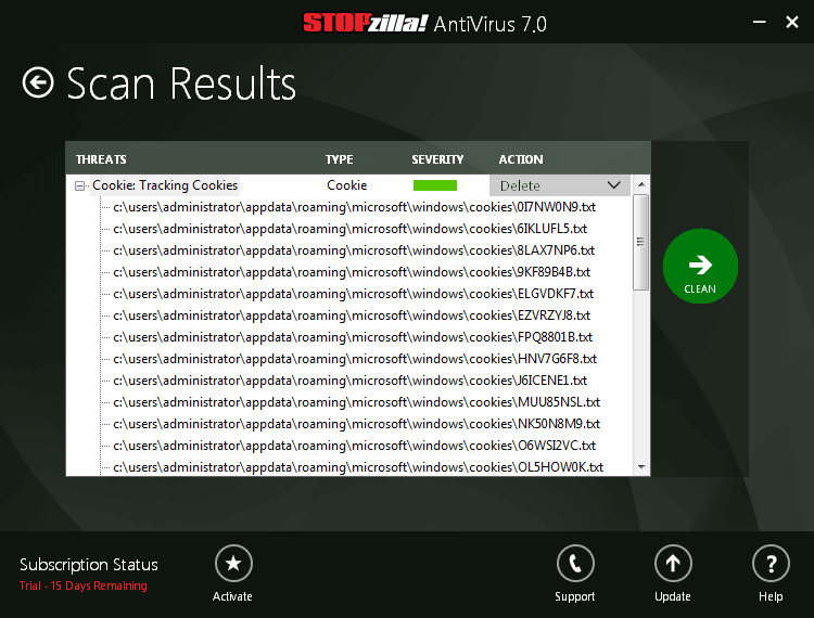 STOPzilla AntiVirus Screenshots 5