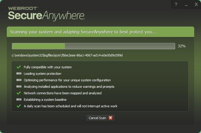 Webroot SecureAnywhere AntiVirus – 50% Discount Screenshots 2