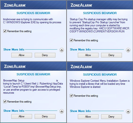 ZoneAlarm FREE FIREWALL 2016 Screenshots 5