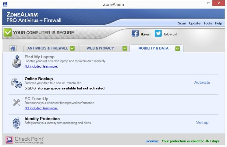 ZoneAlarm PRO ANTIVIRUS + FIREWALL 2016 – 70% OFF Screenshots 9