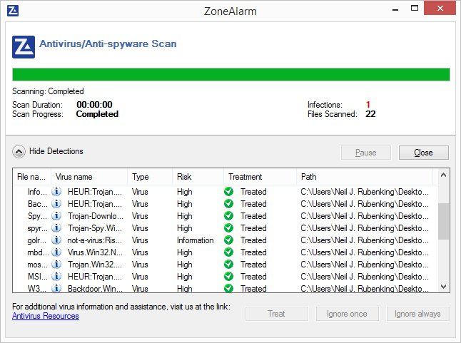 ZoneAlarm PRO ANTIVIRUS + FIREWALL 2016 – 70% OFF Screenshots 6
